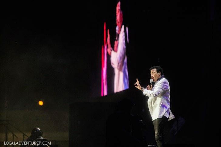 Lionel Richie Tour 2014.