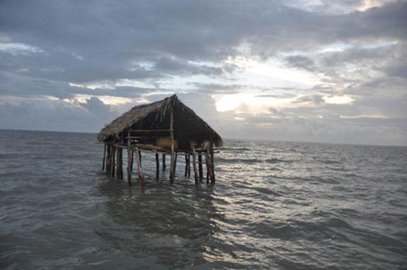 Casa di Pescatori vicino la Ilha de Lençois - Apicum Açu, Maranhao, foto: 1000 dias por toda a America