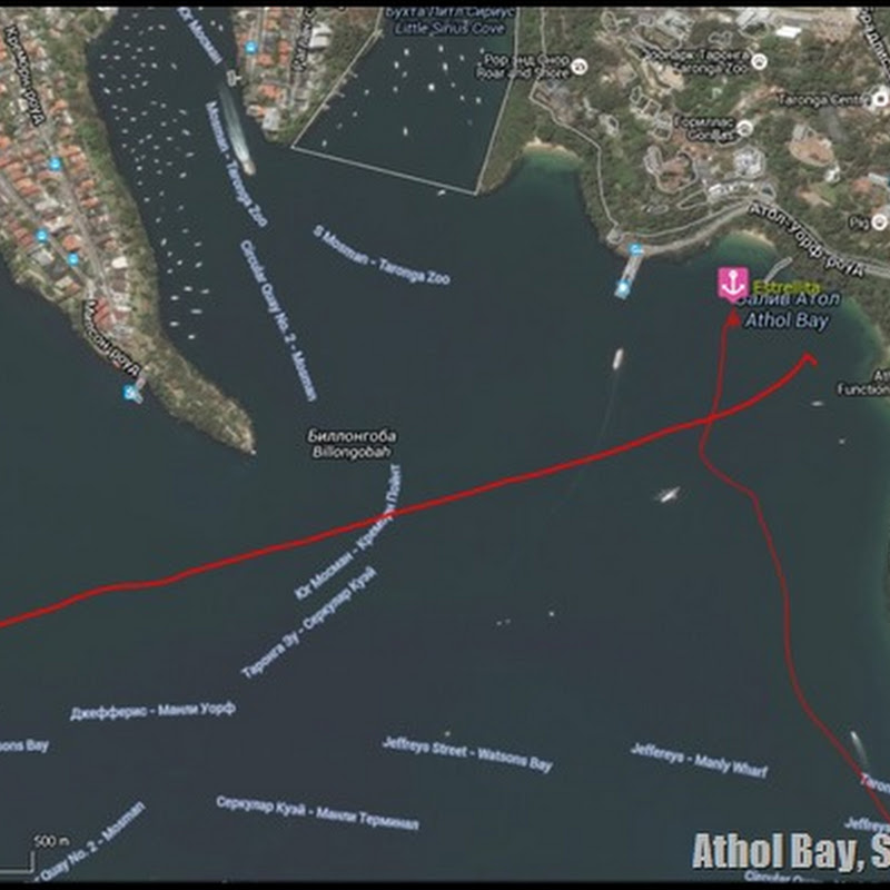 3.5 Anchorages in Sydney Harbour