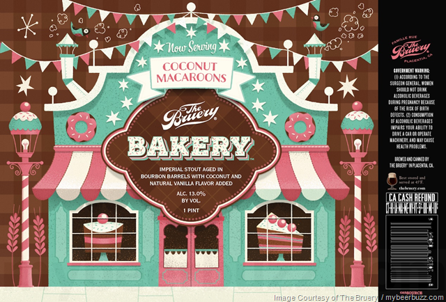 The Bruery Adding Bakery: Coconut Macaroons 16oz Can