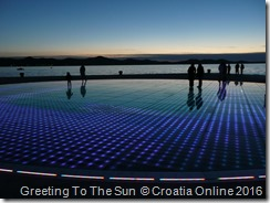 Croatia Online - Greeting To The Sun