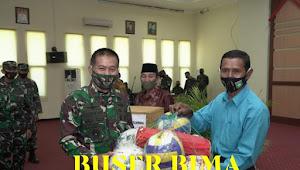 Tutup TMMD Ke-109 Kodim 1607/Sumbawa, Pangdam IX/Udayana Ajak Seluruh Pihak Jaga Kebersamaan dan Lestarikan Semangat Gotong Royong