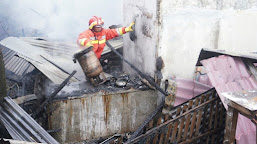 Kebakaran Kemarin di Gampong Pineung, Ini Dugaan Sumber Apinya