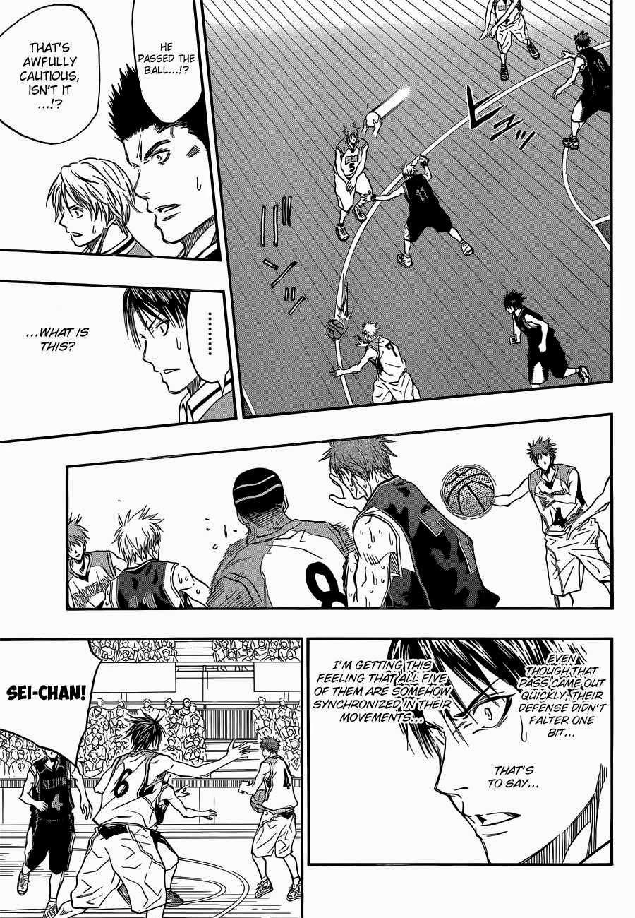 Kuroko no Basket Manga Chapter 270 - Image 06