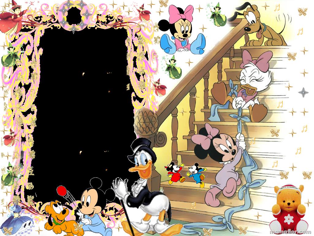 30 Marcos de Fotos de Mickey Mouse · Minnie · Donald - Manualidades ...