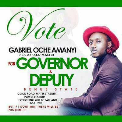 Terry G To Contest For Benue State Governorship Election