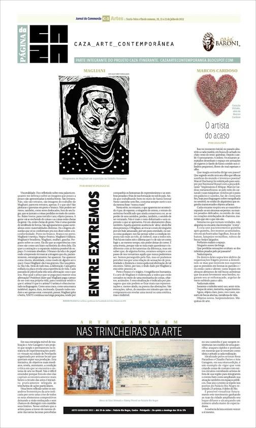 Página da Caza - 20 de Julho de 2012