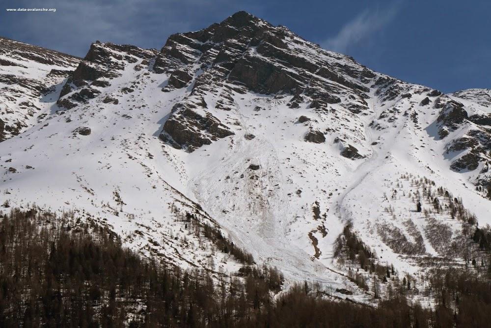 Avalanche Haute Maurienne, secteur Pointes des Pignes - Photo 1
