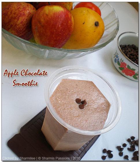 Apple Chocolate Smoothie Recipe