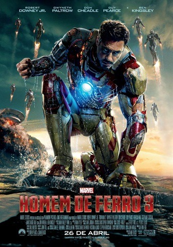 Homem de Ferro 3 - Pôster nacional