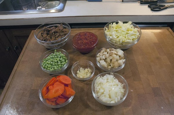 Gather and prep your ingredients.