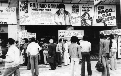 Brasil, Sao Paulo, SP. 19/09/1978. Fachada do Palacio do Cinema. Foto: Arquivo/AE Pasta: 17000