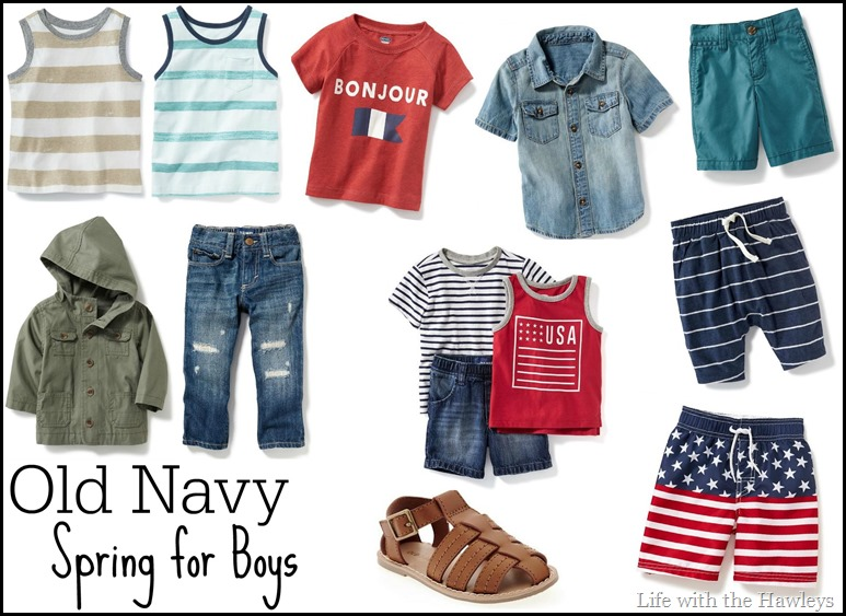 Old Navy Spring For Boys