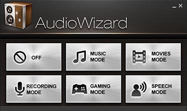 Audio Wizard Asus X555DG-XX165D