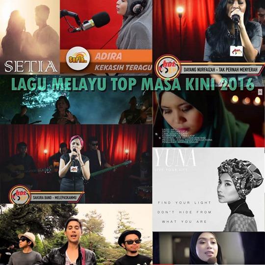 LAGU MELAYU TOP MASA KINI 2016 #1