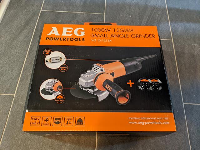 AEG Winkelschleifer WS 10-125 SK verpackt
