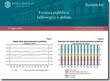 Finanza Pubblica. Luglio 2018