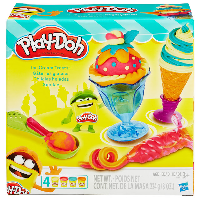 Bột nặn dụng cụ làm kem Play-doh Ice Cream Treats