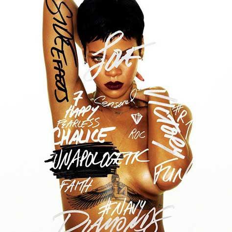 Rihanna portada de Unapologetic