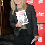 WWW.ENTSIMAGES.COM -   Helen Lederer   arriving  at     Great Britain - press night at Theatre Royal Haymarket, London September 26th 2014West End Opening at Theatre Royal Haymarket for Richard Bean's GREAT BRITAIN -  Play about an ambitious tabloid editor in production described as anarchic satire about the press, the police and the political establishment.                                                    Photo Mobis Photos/OIC 0203 174 1069