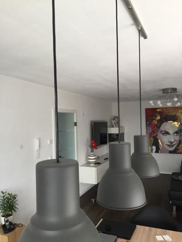 diy lampe im industrial look lizscasa. Black Bedroom Furniture Sets. Home Design Ideas