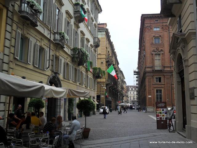 Turim, Torino, Turino, Itália, mototurismo