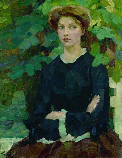 Leo Putz - Herbst, 1908