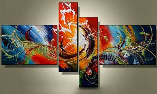 large oil paintings canvas pictures home decoration Mod