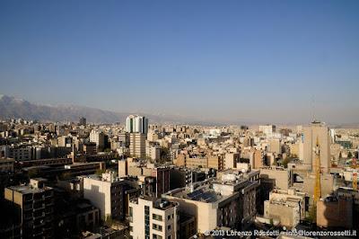 Panorama di Tehran