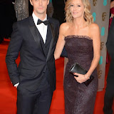 OIC - ENTSIMAGES.COM - Matthew Goode and Sophie Dymoke at the EE British Academy Film Awards (BAFTAS) in London 8th February 2015 Photo Mobis Photos/OIC 0203 174 1069