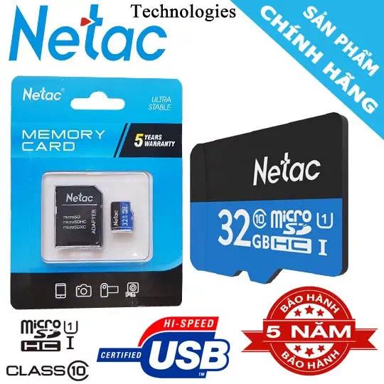 the nho netac 32 chinh hang