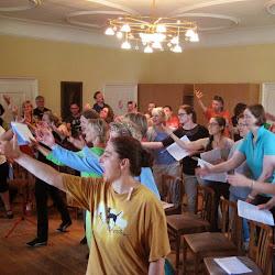 Singwoche 2014 - Proben & Workshops