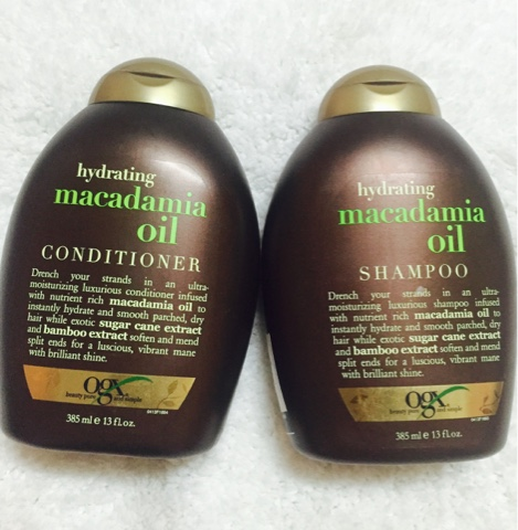 Ogx shampoo and conditioner