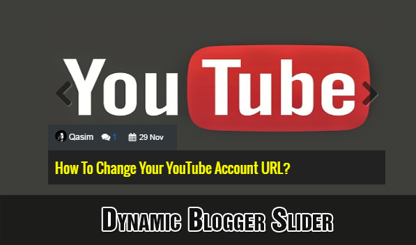 dynamic blogger slider