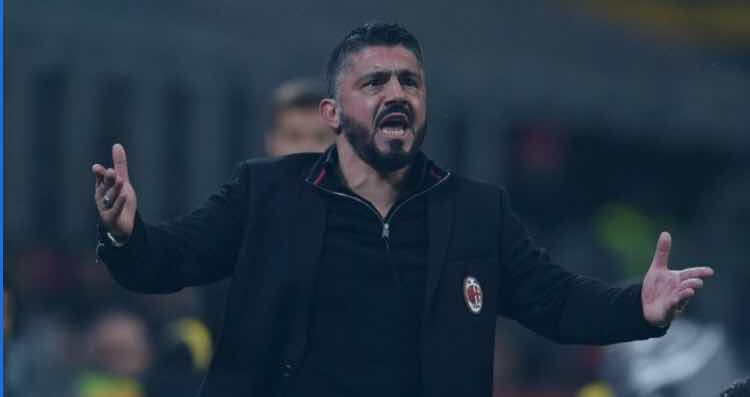 Gattuso: We made a lot of mistakes, Arsenal deserved victory