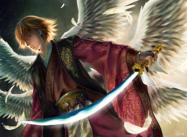 Samurai Angel Warrior, Angels