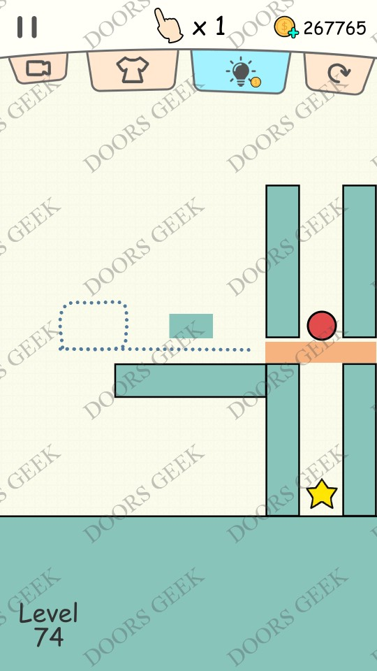 Hello stars level 74 solution doors geek for Solution wordbrain cuisine