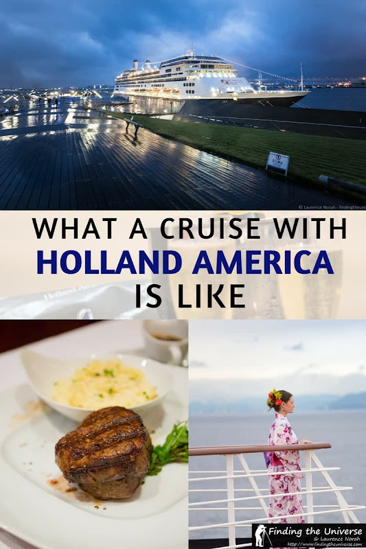 What's it like to cruise with Holland America? We give you all the details from our cruise with them, including what to expect on board, entertainment options, the food, the rooms and the shore excursions!