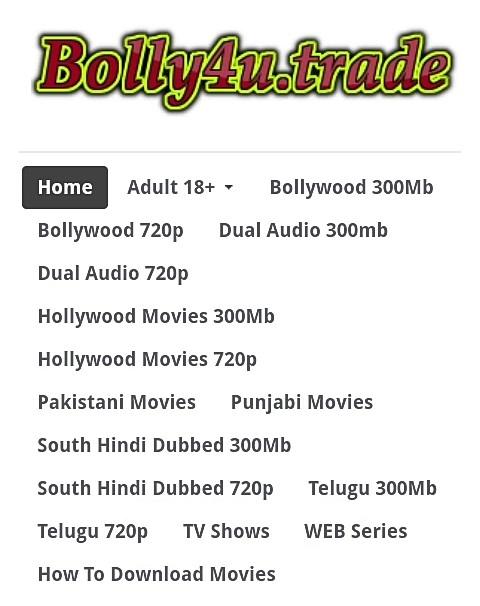 Bolly4u trade - New Bollywood and Hollywood Hindi Movies Download