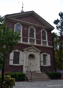 Location of 1st Continental Congress