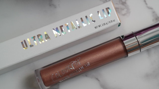 ColourPop Ultra Metallic Lip Gloss Salt