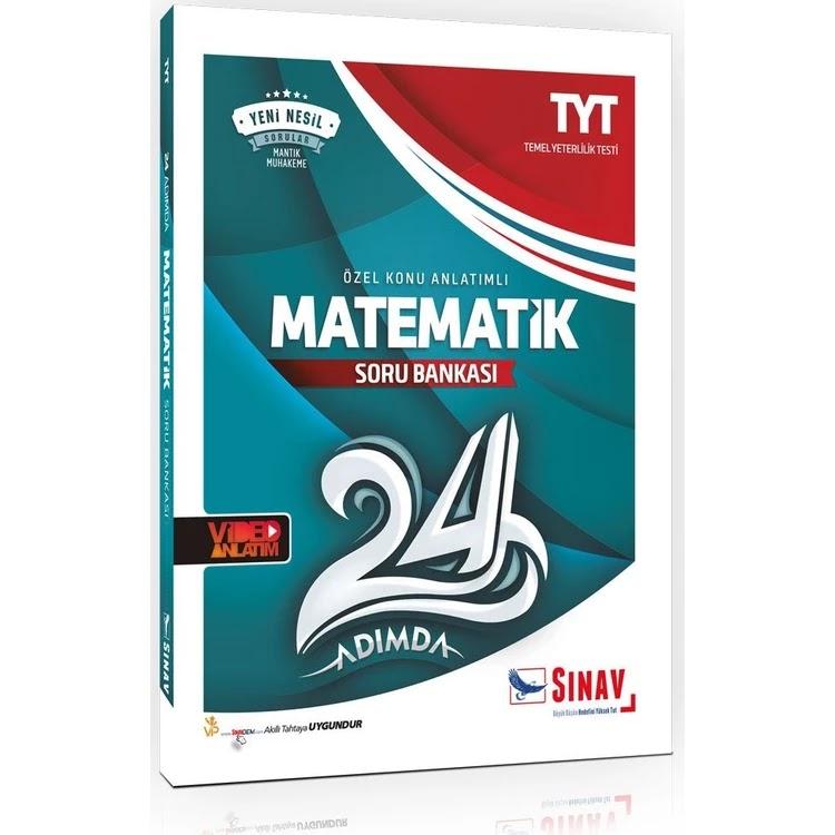 Sınav Yayınları - TYT Matematik - 24 Adımda Soru Bankası
