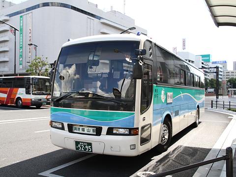 瀬戸内運輸「しまなみライナー」今治福山線 5295 福山駅前到着