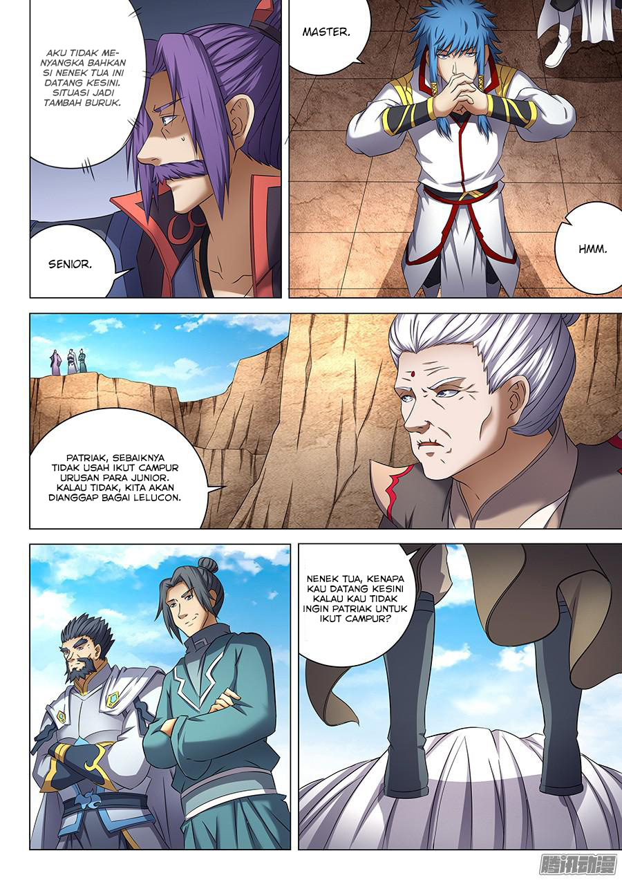 God of Martial Arts Chapter 41.2