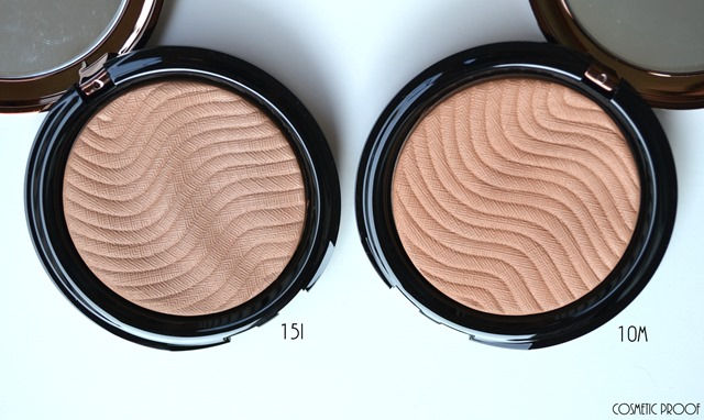 MAKE UP FOR EVER Pro Bronze Fusion in Shades 10M & 15I Review and Swatches (2)