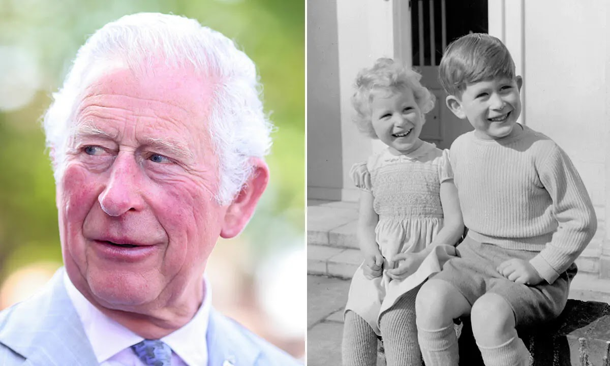 Prince Charles recalls sweet childhood memory with Princess Anne at Buckingham Palace