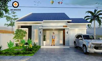 contoh rumah kecil tapi cantik