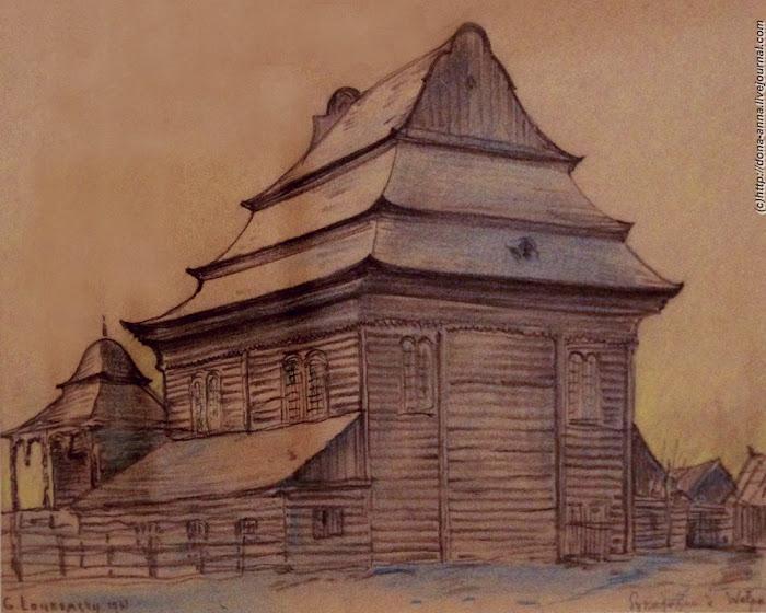 Исчезнувший мир деревянных синагог.