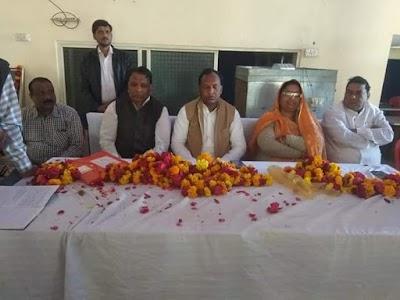 करैरा मैं कांग्रेस पार्टी का स्थापना दिवस मनाया गया
