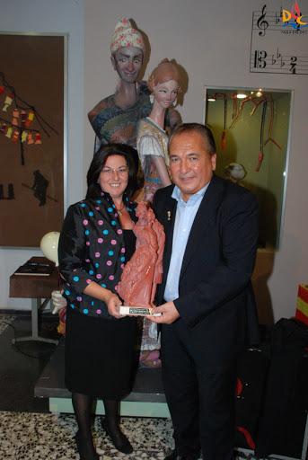 """Nuestro Presidente, Marcos Soriano, ya tiene su """"Premio Desgarrats"""""""